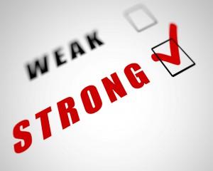 weak-strong