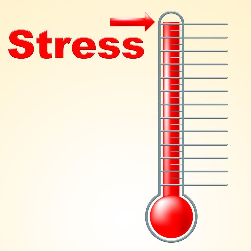 Stresstemperatur